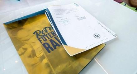 O Retrô assinou um protocolo de cooperação técnica com o Sporting de Portugal