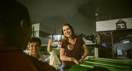 Delegada Patrícia, candidata a prefeita do Recife pelo Podemos.