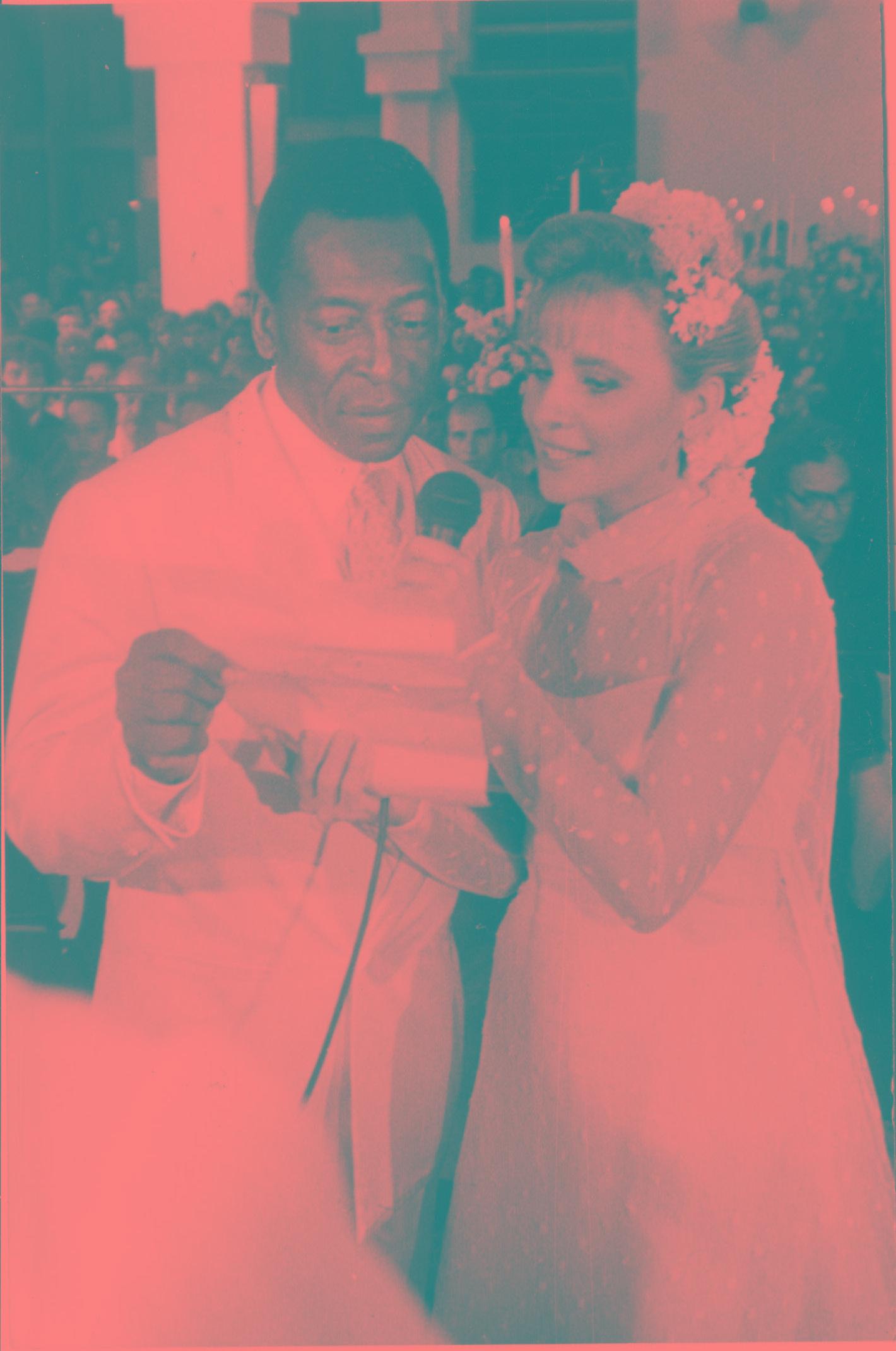 Casamento de Pelé com Assíria parou o Recife em 1994