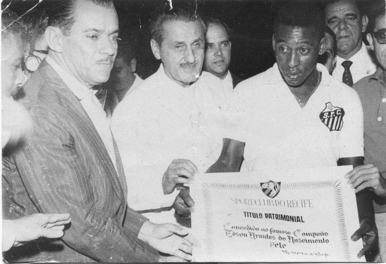 Sport teve a chance de ter Pelé, mas disse não ao Santos
