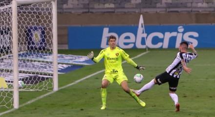 Lance da partida entre Atlético Mineiro x Sport, pela Série A do Campeonato BRasileiro, disputado no dia 24-10-2020