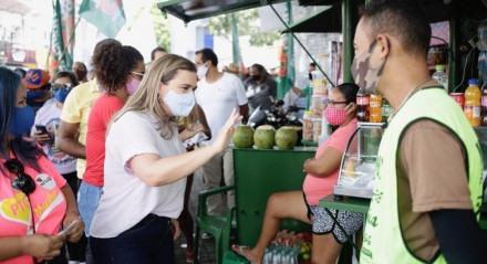 Marília reforça Programa Retomada e participa de três caminhadas neste sábado
