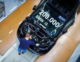 BMW alcança marca de 200 mil unidades produzidas do elétrico i3