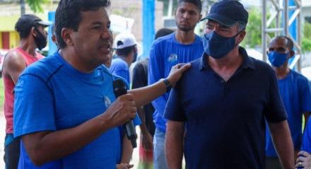 Fernando Bezerra Coelho participa de ato de campanha de Mendonça Filho