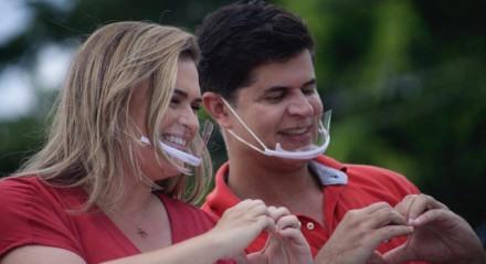 Marília Arraes, candidata a prefeita do Recife, realizou carreata na Zona Sul do Recife