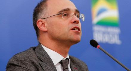 (Brasília - DF, 10/06/2020) Palavras de André Mendonça, Ministro da Justiça e Segurança Pública. Foto: Anderson Riedel/PR