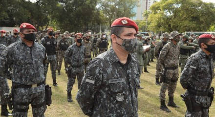 Polícia Militar inicia operação para segurança das Eleições 2020.