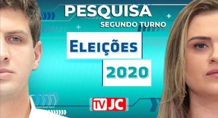Pesquisa Ibope/JC/Rede Globo para segundo turno no Recife entre João Campos (PSB) e Marília Arraes (PT)