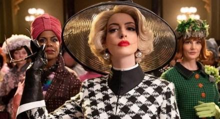 Anne Hathaway está no elenco de Convenção das Bruxas.
