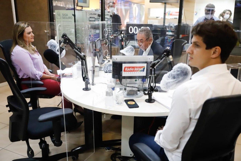 Checamos: erros e acertos de João Campos e Marília Arraes no debate da Rádio Jornal
