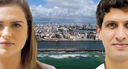 Debate TV Jornal - Marília Arraes (PT) e João Campos (PSB) Que disputam o segundo turno das eleições no Recife