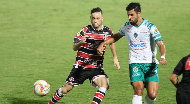 Santa Cruz é derrotado para o Manaus por 2x1 e perde invencibilidade de dez partidas
