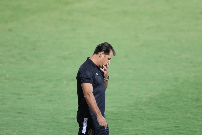 Marcelo Martelotte acredita que derrota não vai abalar elenco do Santa Cruz