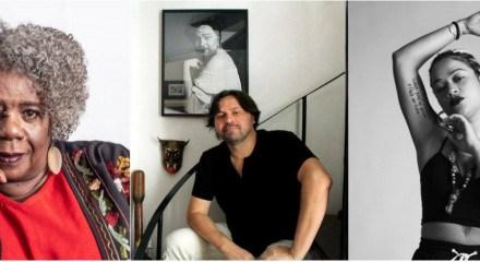 Conceição Evaristo, Marcelino Freire e Ryane Leão são três dos 16 nomes literários que compõem a programação do Encontros de Interrogação