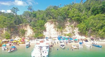 Praia de Guadalupe: A famosa praia do banho de argila.