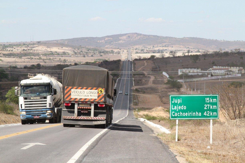 Duplicação da BR-423, no Agreste de Pernambuco, começa a virar realidade