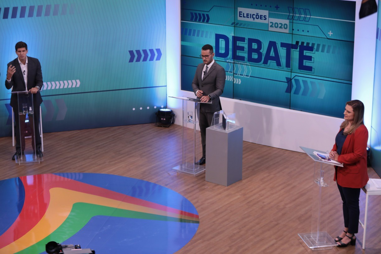 Checamos: erros e acertos dos candidatos à Prefeitura do Recife no último debate promovido pela TV Jornal antes do 2ª turno