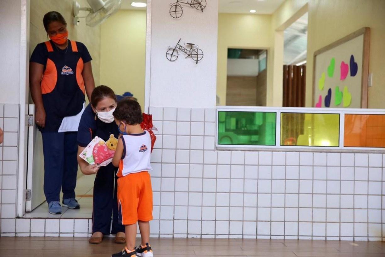 Com atenção aos protocolos, aulas presenciais na educação infantil retornam nas escolas particulares de Pernambuco