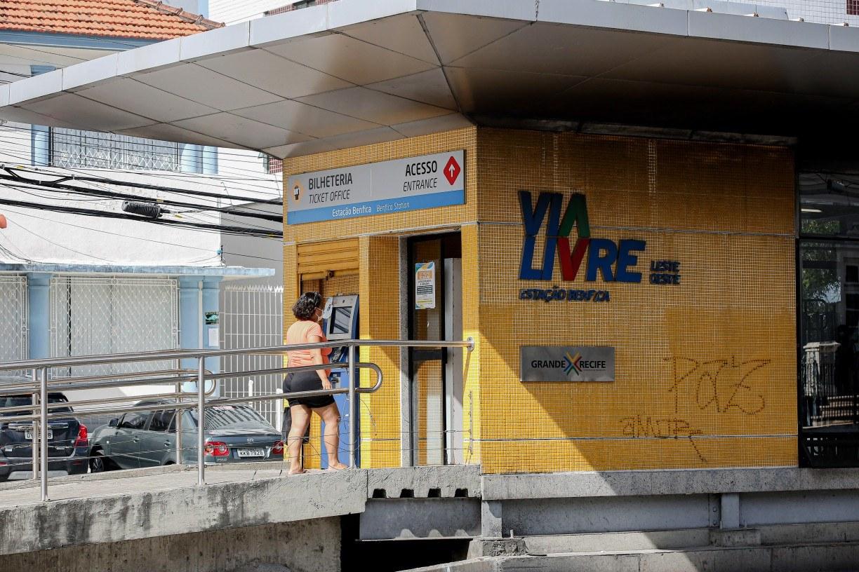 Reforma das estações do BRT avança na Região Metropolitana do Recife