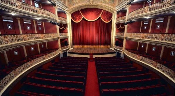 Teatro de Santa Isabel.