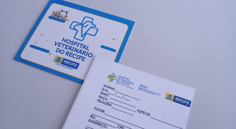Hospital Veterinário do Recife lança carteirinha de atendimento e serviço de 'Fale Conosco'