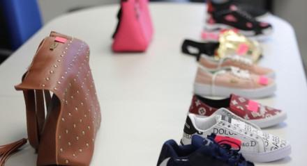 Três toneladas de mercadorias falsificadas foram apreendidas, na manhã desta terça-feira (1º), pela Receita Federal e pela Polícia Civil, numa operação de combate à comercialização de produtos pirateados no Recife.