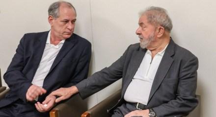 Luiz Inácio Lula da Silva e Ciro Gomes