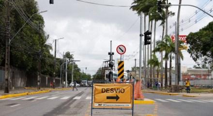 A mudança pretende dar mais mobilidade e fluidez aos condutores de veículos e passageiros da Avenida Abdias de Carvalho