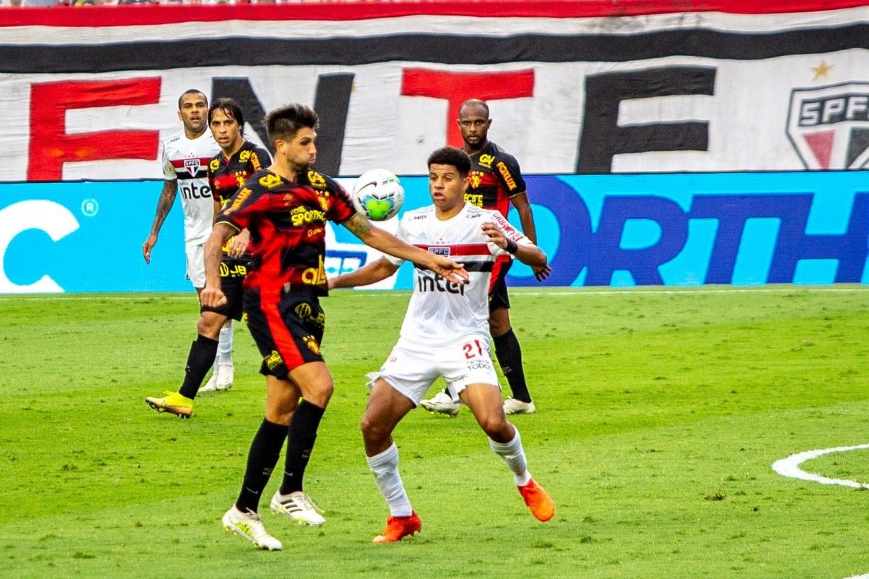 Sport perde por 1x0 diante do São Paulo e acumula quarta derrota seguida na Série A
