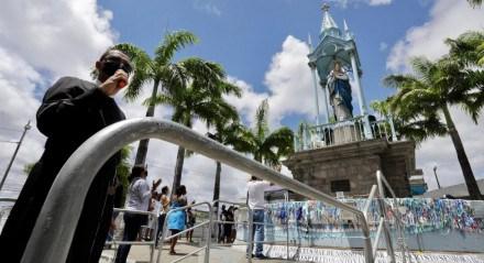 Movimentação no Morro da Conceição nesta segunda-feira