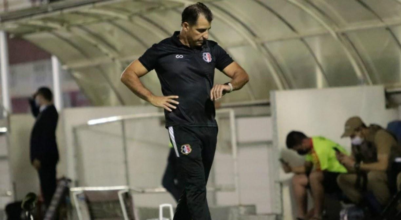 Marcelo Martelotte valoriza ponto conquistado pelo Santa Cruz diante do Brusque