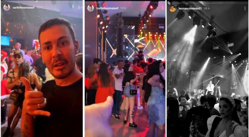 Carlinhos Maia promove festa de Natal com aglomeração e é criticado na web
