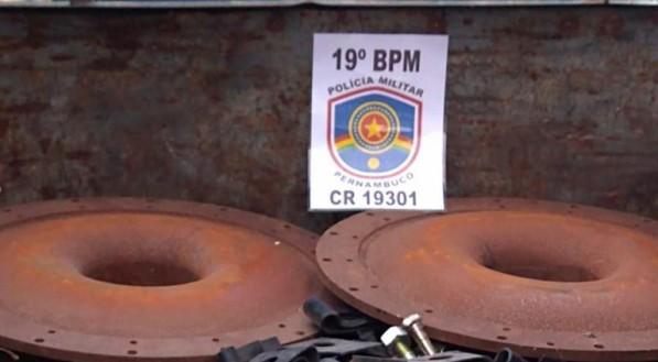 Divulgação: Polícia Militar