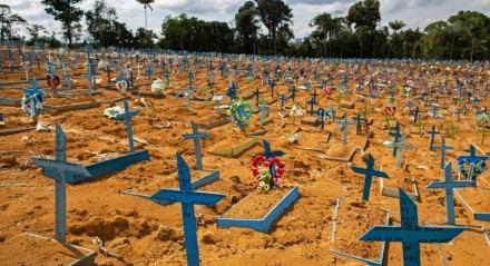 O Brasil é o segundo País com mais mortes por covid-19, atrás, somente, dos Estados Unidos