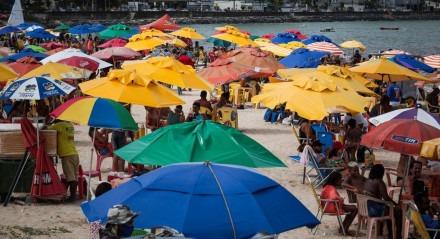Praia, Sol, Mar, Lazer, Economia, Banhistas, Diversão