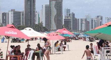 Fiscalização intensa nas praias de Jaboatão dos Guararapes neste domingo (10)