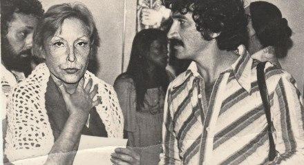 ENCONTRO O poeta e cronista José Mário Rodrigues ciceroneou Clarice Lispector na última visita da escritora ao Recife, em 1976
