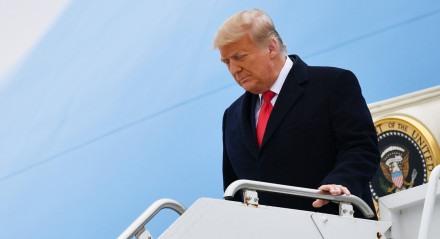 Presidente Donald Trump sofre 2º processo de impeachment