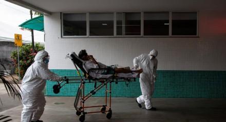 Manaus está enfrentando uma escassez de oxigênio e leitos para pacientes com covid-19