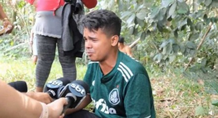 Pedro Henrique foi encontrado por policias militares e bombeiros nesta sexta-feira (15)