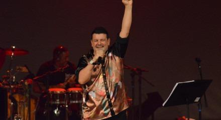 André Rio apresenta o show 'Viva Pernambuco' no Janeiro de Grandes Espetáculos