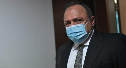 Ministro da Saúde, Eduardo Pazuello, em 17/01/2021