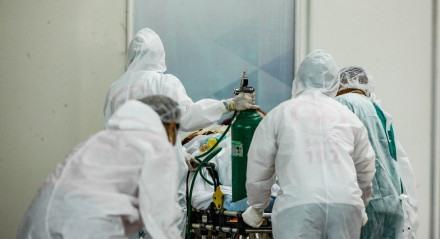 Pacientes da covid-19 sem oxigênio no Pará