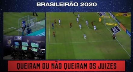 Combinação de imagens de lances polêmicos, trilha sonora e narração convocam a torcida rubro-negra para uma reta final do Brasileiro
