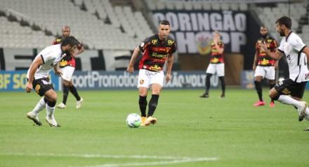 Sport começou bem, mas não segurou o Corinthians em São Paulo