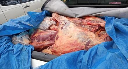 A carne será incinerada por uma equipe de técnicos da Agência de Defesa Agropecuária de Pernambuco (Adagro)