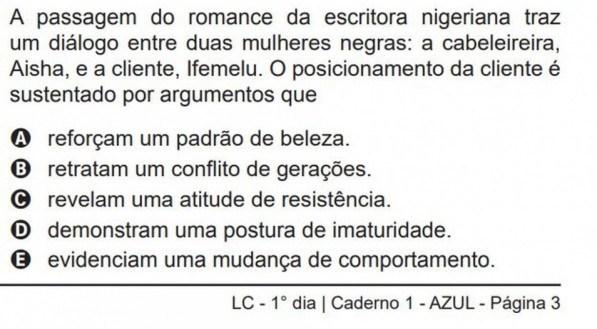 REPRODUÇÃO/INEP