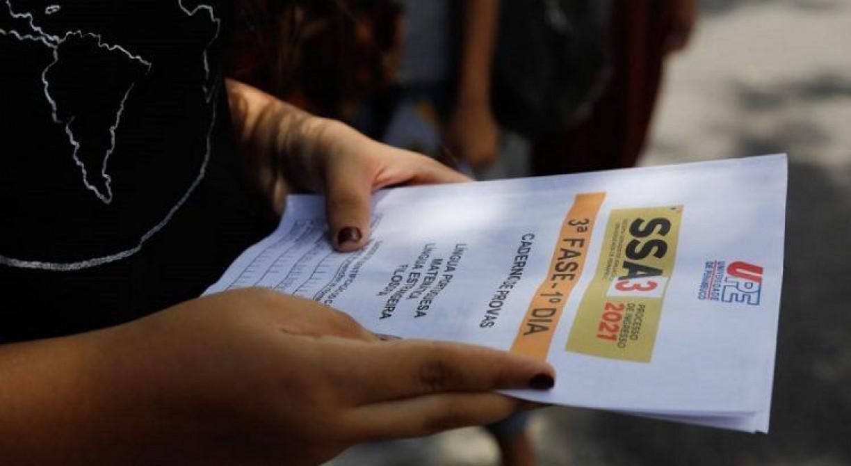 Mais de 17% dos candidatos faltam ao primeiro dia do SSA 3