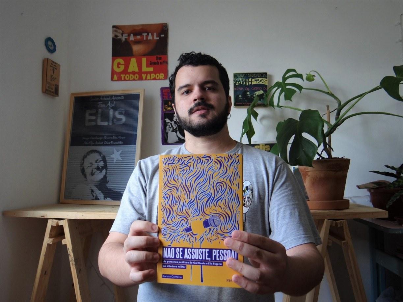 Livro destaca papel político de Gal Costa e Elis Regina contra a ditadura