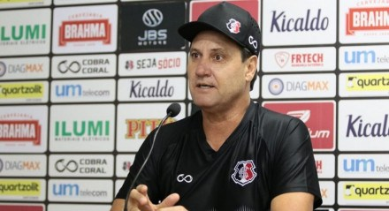 Técnico do Santa Cruz, João Brigatti.